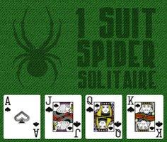 1 Suit Spider Solitaire