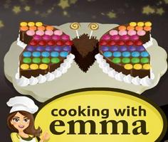 Butterfly Chocolate Cake: Cooking with Emma