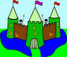 Fortified Castle Coloring