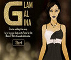 Glam Gal Gina   Black and White