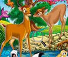 Hidden Numbers Bambi