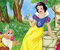 Hidden Numbers Snow White