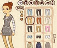 Hipster Girl Dress Up