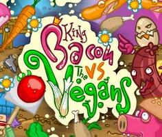 King Bacon Vs The Vegans