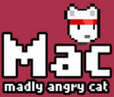 Madly Angry Cat