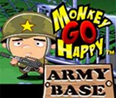 Monkey Go Happy: Army Base