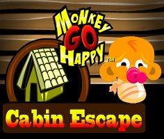 Monkey GO Happy: Cabin Escape