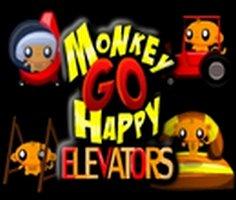 Monkey Go Happy: Elevators