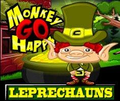 Monkey Go Happy Leprechauns