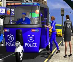 Police Auto Rickshaw