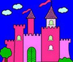 Princess Castle Coloring