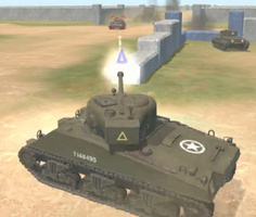 Realistic Tank Battle Simulation