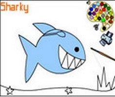 Sharky Colouring