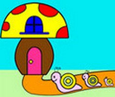 Snail Family Coloring