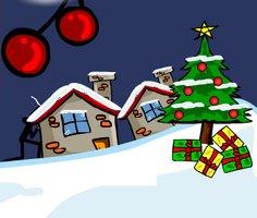 Spider Stickman 5 Christmas