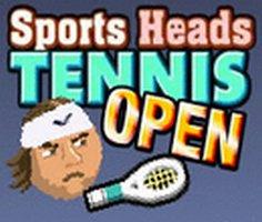 Sports Heads: Tennis Open