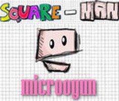 Square Man Pacman