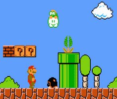 Super Mario Bros Scene Creator Animated