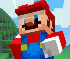 Play Super Mario Minecraft Runner
