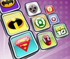 Superheroes Logo Match