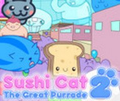 Sushi Cat 2: The Great Purrade