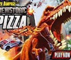 T Rex Rampage Prehistoric Pizza