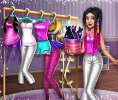 Play Tris Fashionista Dolly Dress Up