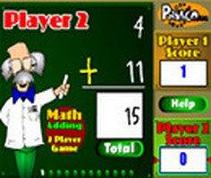 Two Player Math Adding