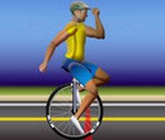 Unicycle Athlete