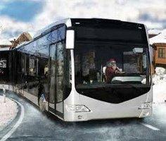 Winter Bus Driver