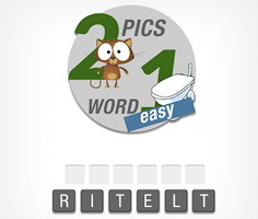 Word Guessing 2 Pics 1 Word: Easy