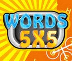 Words 5x5