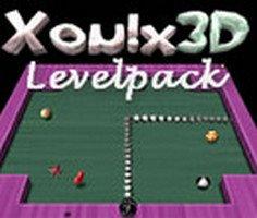 Play Xonix 3D Level Pack