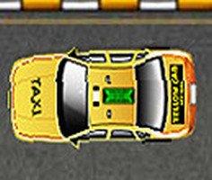 Yellow Cab Taxi Parking